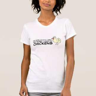 T-shirt Plus les personnes je rencontre… l'agriculteur de