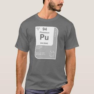 T-shirt Plutonium (Pu)