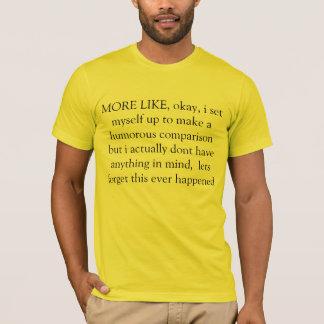T-shirt plutôt