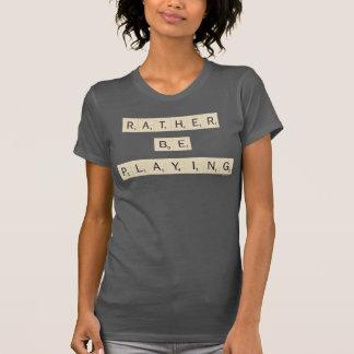 T-shirt Plutôt joue - des tuiles