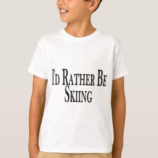 T-shirt Plutôt skie