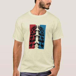 T-shirt Pneu américain de vélo de montagne