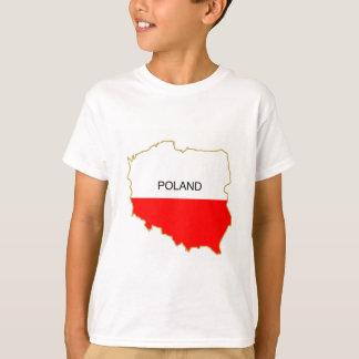 T-shirt Png polonais de carte
