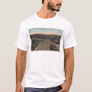 T-shirt Pocatello, identification - Chambre ronde de dépôt
