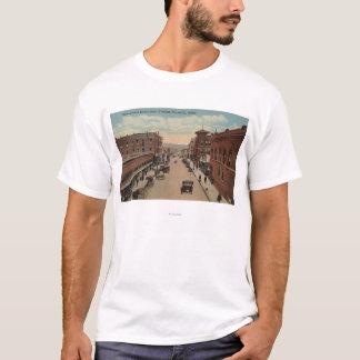 T-shirt Pocatello, identification - vue d'E. Center