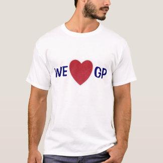T-shirt Poche de cannelure