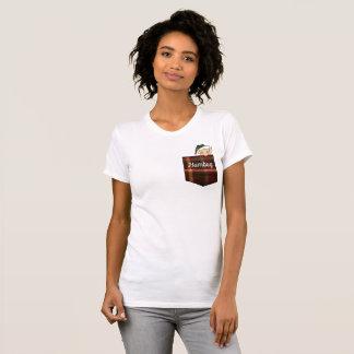 T-shirt Poche fumiste de plaid d'Elf