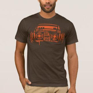 T-shirt Pochoir Boombox