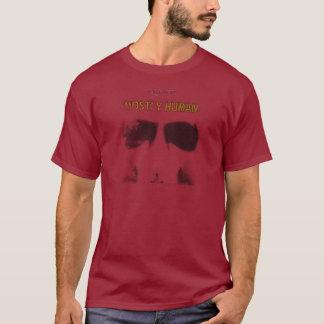 T-shirt Pochoir graphique : En grande partie humain
