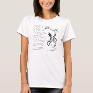 T-shirt Poème de Jabberwocky