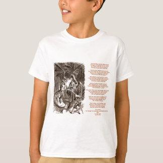 T-shirt Poème de Jabberwocky par Lewis Carroll