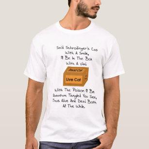 T-shirt Poème du chat de Schrodinger