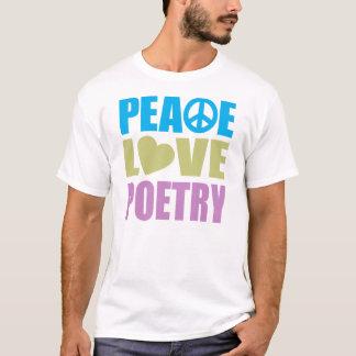 T-shirt Poésie d'amour de paix