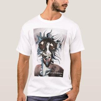 T-shirt Poète du souterrain par Anjo Lafin