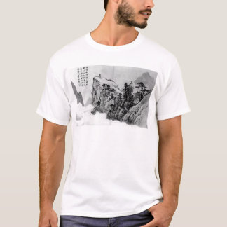 """T-shirt """"Poète sur un sommet de montagne"""" - Shen Zhou"""