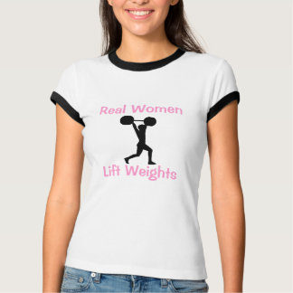 T-shirt Poids d'ascenseur de vraies femmes