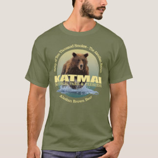 T-shirt POIDS de Katmai (ours de Brown)