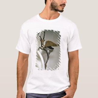 T-shirt Poignée de vase sous forme de bouquetin à ailes,