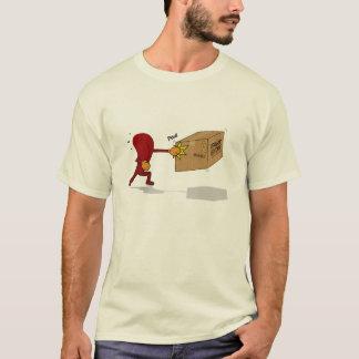 T-shirt Poinçon de langue ma boîte de pet (aucun texte)