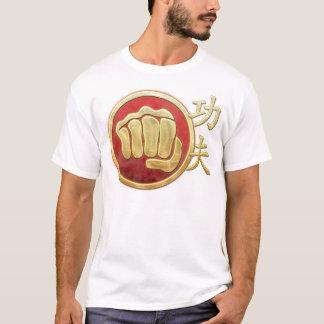 T-shirt Poing #2 de Kung Fu