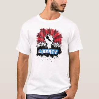T-shirt Poing de liberté avec le logo
