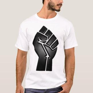 T-shirt poing de point d'ébullition