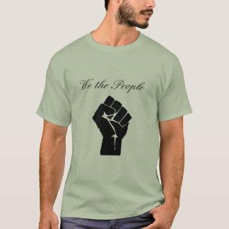 T-shirt Poing, nous les personnes