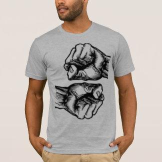 T-shirt Poings de fureur