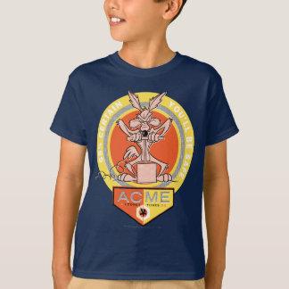 T-shirt Point culminant de coyote du Wile E - 68% certain