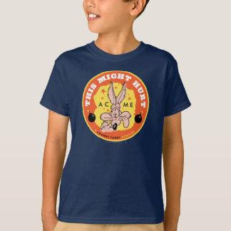 T-shirt Point culminant de coyote du Wile E - ceci