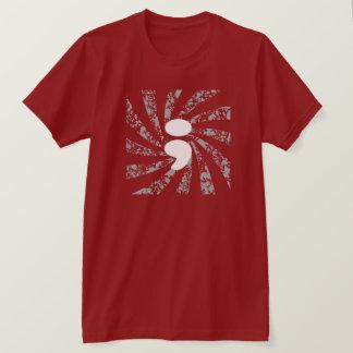 T-shirt Point-virgule sur des rayons du soleil