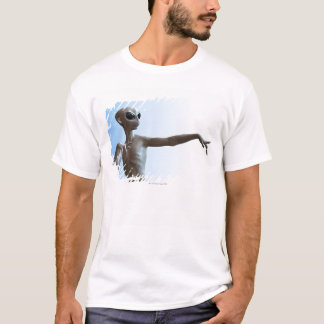 T-shirt Pointage étranger