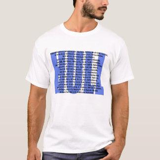 T-shirt Points de repère de coque