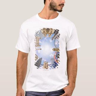 T-shirt Points de repère de Londres