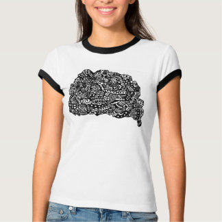T-shirt Points noirs et blancs