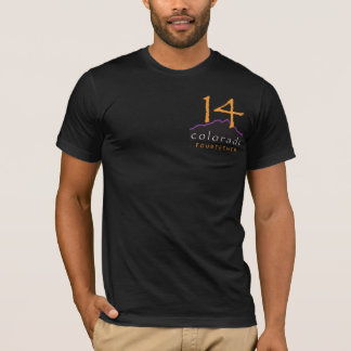 T-shirt pointu de l'usage 14er