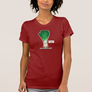 T-shirt Poireau de l'information