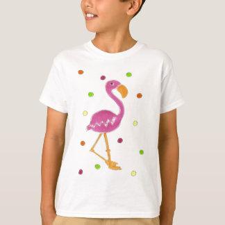 T-shirt Pois de flamant