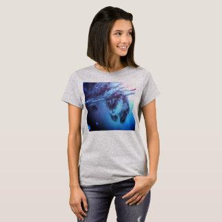 T-shirt Poisson-chat