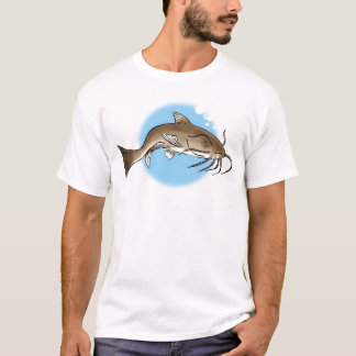 T-shirt Poisson-chat