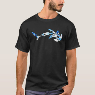 T-shirt poisson-marteau blanc