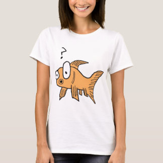 T-shirt Poisson rouge confus