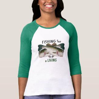 T-shirt Poissons bas