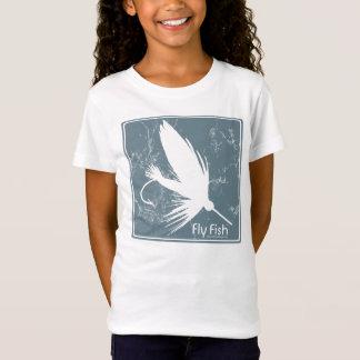 T-Shirt Poissons bleus de mouche