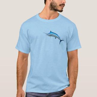 T-shirt Poissons de Marlin bleu