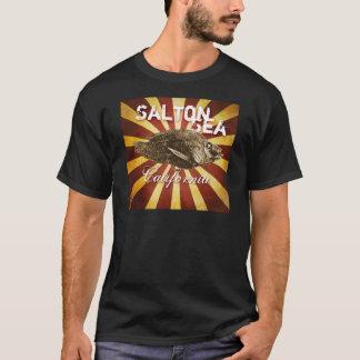 T-shirt Poissons de mer de Salton, la Californie Starburst