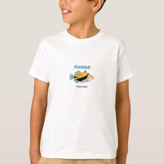 T-shirt Poissons d'Hawaï Humu Humu