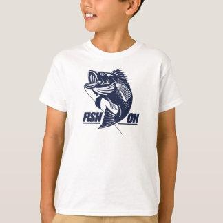 T-shirt Poissons sur (basse)