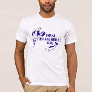 T-shirt Poissons vintages d'Omaha et club de faune