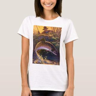 T-shirt Poissons vintages, libération du crochet n de